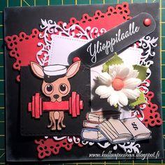 Hullua puuhaa vai vain Hullun puuhaa?: valmistujaiset/ylioppilas Graduation Cards Handmade, Books, Libros, Book, Book Illustrations, Libri