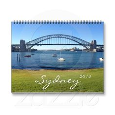 Photographic 2014 calendar featuring twelve photos of stunning Sydney including the world famous Sydney Opera House, Sydney Harbour Bridge, Darling Harbour and more.