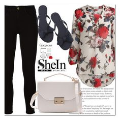 """""""Shein contest"""" by aida-nurkovic ❤ liked on Polyvore featuring Frame"""