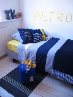 Tante Ted plaid Metro Blue | Collectie Metro van Tante Ted | Tante Ted