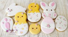 """191 Likes, 19 Comments - Dear Sweet Cookies & Co (@dearsweet_cookiesco) on Instagram: """"Cookies inspired by Easter! This design just came out while I was decorating. What do you think…"""""""