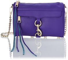 Rebecca Minkoff Mini MAC Convertible CrossBody BagHyper PurpleOne Size >>> Check this awesome product by going to the link at the image.