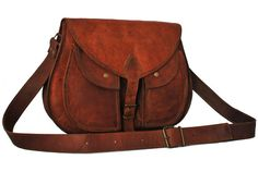 High on leather provides you the most amazing looking crossbody messenger bag for women which is large enough to fit all your required accessories including your college notebooks.