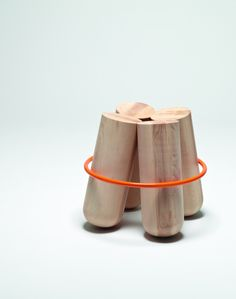 Bolt stool by Note Design Studio for La Chance – Hyde version