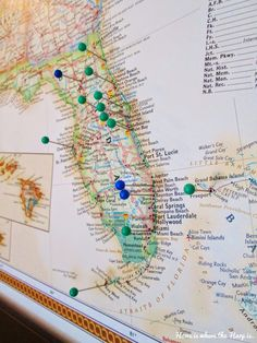 Make a pin travel map for cheap!