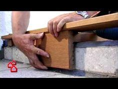 BAUHAUS TV - Verlegen einer Holzterrasse - YouTube