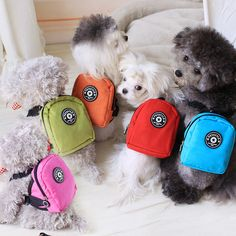 Small Dog Backpacks - in 5 different colours - CUTE.