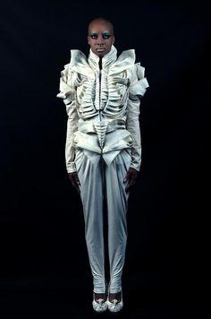 Feyrouz Ashoura - fashion sculptor.