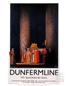 Dunfermline Art Print at Art.com