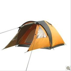 Pin it! :) Follow us :)) zCamping.com is your Camping Product Gallery ;) CLICK IMAGE TWICE for Pricing and Info :) SEE A LARGER SELECTION of 5-6 persons camping tents at http://zcamping.com/category/camping-categories/camping-tents/5-to-6-person-tents/ - hunting, camping tents, camping, camping gear -  3-4 person tents double layers tent camps extensions warehouse prevent the rain « zCamping.com