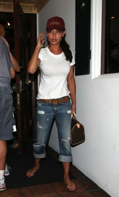 Boyfriend jeans...lose and comfy