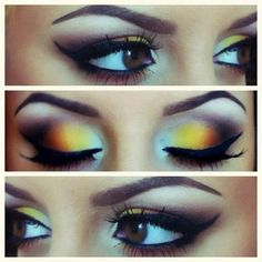 Makeup Ideas : Crazy Eye Makeup For Brown Eyes Crazy Eye Make Up from Unique Inspiration Pretty Eyeshadow Ideas. Eyeshadow For Blue Eyes. Eyeshadow Ideas For Brown Eyes. Eye Makeup, Makeup Tips, Hair Makeup, Makeup Ideas, Makeup Tutorials, Makeup Lessons, Night Makeup, Ugly Makeup, Makeup Quiz