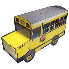 Werkhaus Shop - Schoolbus Bücher-Sitzbank