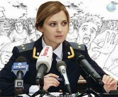 Natalia Poklonskaya - Attorney of Crimea and Internet star. 21 PHOTOS  ... Illegally appointed Attorney of Crimea, 33 -year-old Natalia Poklonskaya, became a real star of Internet,  http://softfern.com/NewsDtls.aspx?id=805&catgry=8