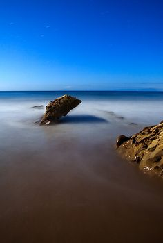 Leaning Rock, March 2007 by Toby Keller Night Photography, Landscape Photography, Beautiful Landscapes, March, Photoshop, Rock, Pictures, Blue, Outdoor