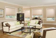 This Living Room is made even cozier by the soft glow of the Honeycomb Shades! To achieve the perfect look for your home, call the design experts at Window Wear. Call for a Free In-Home Estimate! Aluminum Blinds, Honeycomb Shades, Cellular Shades, Cellular Blinds, Woven Wood Shades, Custom Blinds, House Blinds, Home Estimate, Athens
