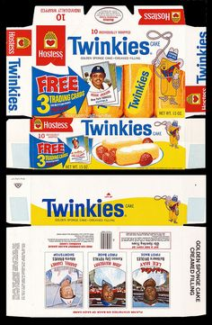 Twinkies Box - 1977 by Waffle Whiffer, via Flickr