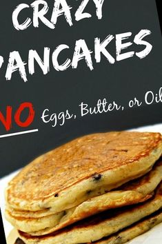 Crazy Pancakes! Way too easy and way too good.#Pancake #Recipe #Pancakes! #Butter #Crazy Pancake Recipe No Eggs 49+ Crazy Pancakes! No Eggs Butter Or Oil! | Pancake Recipe No Eggs No Milk | 2020 Greek Yogurt, Pancakes, Easy Meals, Milk, Butter, Eggs, Breakfast, Recipes, Food