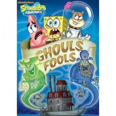 SpongeBob SquarePants: Ghouls Fools DVD & Halloween Coloring Page