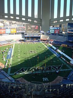 Yankee Stadium - In football configuration for a game between Army and Rutgers