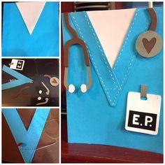 Papercraft, medicine, doctor, Card, tarjeta de regalo, DYI,