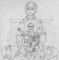 virgin-and-child-enthroned-line-drawing-crop.jpg (JPEG Image, 1942×1961 pixels) - Scaled (32%)
