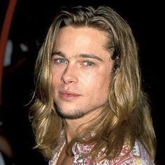 Brad Pitt Long Blonde Hair - Best Brad Pitt Haircuts: How To Style Brad Pitt's Hairstyles, Haircut Styles, and Beard #menshairstyles #menshair #menshaircuts #menshaircutideas #menshairstyletrends #mensfashion #mensstyle #fade #undercut #bradpitt #celebrity #bradpitthair Hairstyles Haircuts, Haircuts For Men, Cabelo Do Brad Pitt, Long Hair Cuts, Long Hair Styles, Brad Pitt Haircut, Hair Evolution, Kris Kristofferson, Don Juan