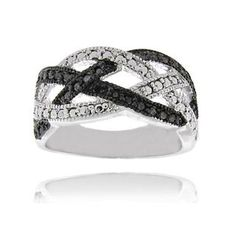 @Overstock - Finesque Sterling Silver Black Diamond Accent Braided Design Ring - Black diamond accent braided design ringSterling silver jewelry  http://www.overstock.com/Jewelry-Watches/Finesque-Sterling-Silver-Black-Diamond-Accent-Braided-Design-Ring/5634840/product.html?CID=214117 $17.99
