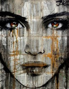 "Saatchi Art Artist Loui Jover; Drawing, ""there's a place"" #art"