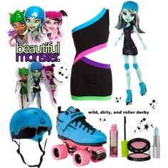 Designer Clothes, Shoes & Bags for Women Funky Outfits, Teen Fashion Outfits, Cool Outfits, Monster High Clothes, Monster High Dolls, Cosplay Outfits, Cosplay Ideas, Japan Fashion, Disneybound