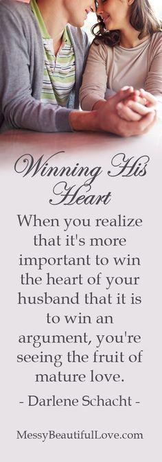 Messy Beautiful Love...win the heart of your husband #messybeautifullove