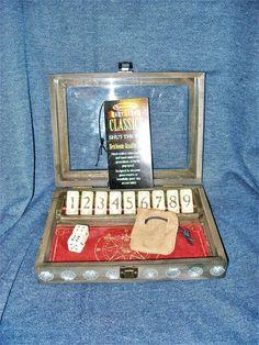 New Melissa & Doug Classic Heirloom Quality Wooden Shut-the-Box Game w/ Storage  #MelissaDoug