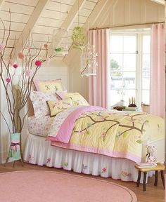 Tissue Flowers on Tree Branches by Pottery Barn Kids