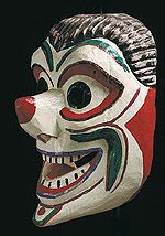 Ecuadorian Scary Clown mask 