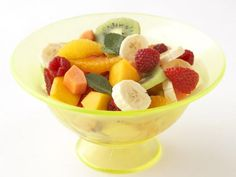 Fresh Fruit and Mint Salad