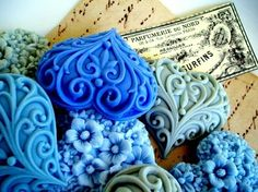 Who would want to use these beautiful soaps?