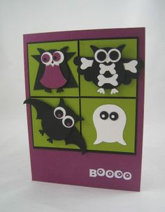 Owls in Disguise- Stampin' Up made by Miechelle Weber stampinU.wordpress.com