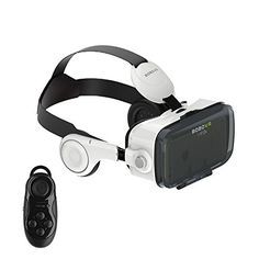b5981d31030 Clever Bear BoBo VR Z4 Virtual Reality 3D Glasses with Headphone Support  Android iOS and PC Phones Series Smart Phones and Remote Controller