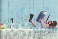 E TU DOVE LEGGI? di Géraldine Collet e Magali Le Huche Edizioni Clichy Lo ha vinto Matilda, mia figlia, partecipando a un concorso, promosso da Edizioni Clichy. Lo ha vinto con un pensiero scritto a scuola, all'età di otto anni, un pensiero nato certamente dal costante lavoro di mamma lettrice ma anche  ad una speciale maestra, capace di lasciare il tempo per far uscire i pensieri dalla testa e fissarli sul foglio... Continua  http://gallinevolanti.com/2014/10/tu-dove-leggi/