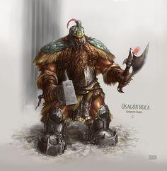 Osagon Roca by Rukkits on deviantART