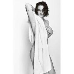 Kristen+Stewart+Stuns+in+Mario+Testino's+Towel+Series+via+@WhoWhatWearUK