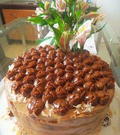 Food Cakes, Cupcake Cakes, Sweet Recipes, Cake Recipes, Chiffon Cake, Brownie Cake, Love Cake, Beautiful Cakes, Yummy Cakes
