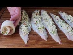 Crab Stuffed Sole Recipe - Baked Sole with Crab Stuffing  Cannot wait to try!