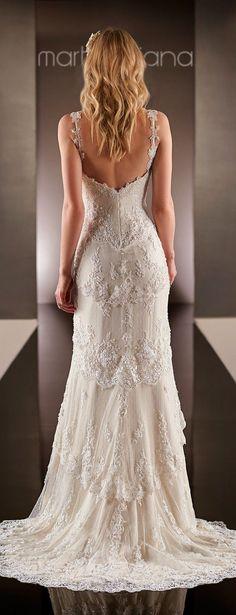 Martina Liana Spring 2015 Bridal Collection - Belle the Magazine #weddingdress