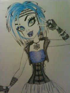 Jacklyn Frost ^^ my Monster High Character