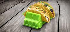 Amazon.com | Fred & Friends TACO TRUCK Taco Holder, Set of 2: Serveware Accessories