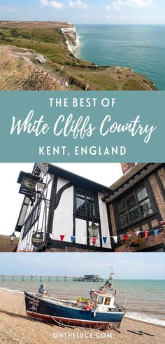 A road trip through White Cliffs Country in Kent, Southern England – visiting castles, cliffs and cake shops in the towns of Sandwich, Deal and Dover.