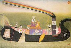 FRIEDRICH SCHRÖDER-SONNENSTERN - The State Magic Ship To The Moon Spirit Driving, 1956