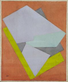 moma: Artist Jacques Villon, brother of Marcel Duchamp, was born on this day in 1875. [Jacques Villon. Color Perspective. 1922.