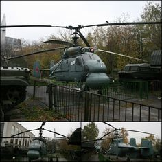 "Central Museum of the Armed-Forces - Moscow. Kamov KA-25 ""Hormone"" Anti Submarine Warfare helicopter of the Soviet Navy;"